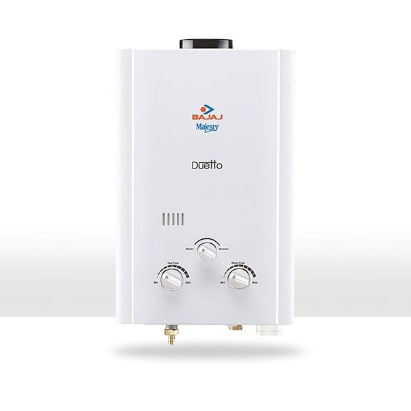 Bajaj Majesty Duetto Gas 6 LTR Water Heater