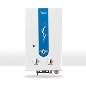 Hindware Atlantic 6L LPG and PNG Geyser Water Heater (White)