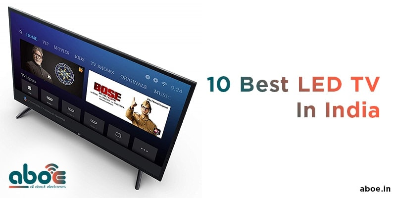 10 Best led tv in india