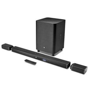 JBL Bar 5.1 Powerful 4K UHD Soundbar with Wireless Surround Speakers
