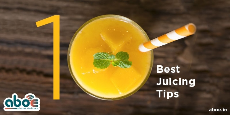 best juicing tips