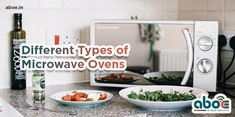 Different Types of Microwave Ovens 1