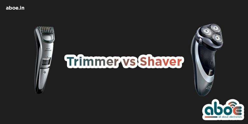 Trimmer-vs-Shaver