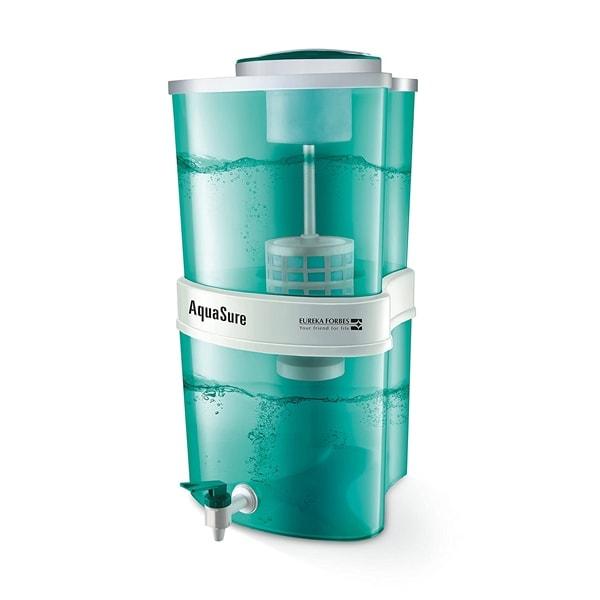 Eureka Forbes Aquasure from Aquaguard Aayush 22-Litre Water Purifier, Green
