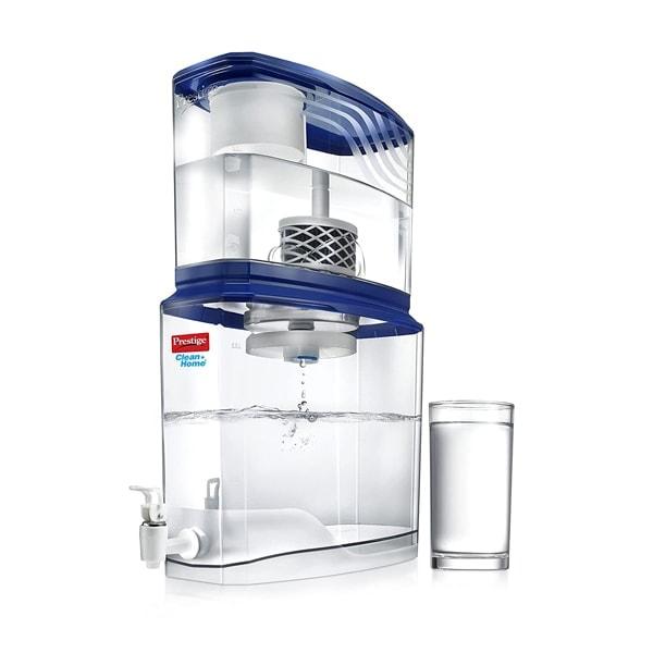 Prestige Non-Electric Acrylic Water Purifier PSWP 2.0, 18 L (Multicolour)
