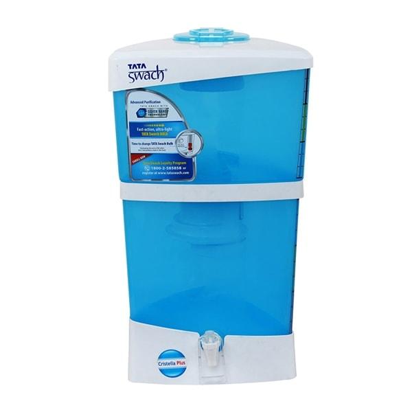 Tata Swach Non-Electric Cristella Plus 18-Litre Gravity Based Water Purifier