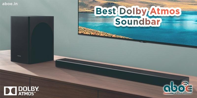 Best Dolby Atmos Soundbar In India