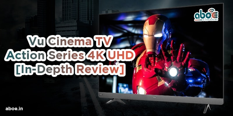 Vu Cinema TV - Action Series 4K UHD [In-Depth Review] [2021]