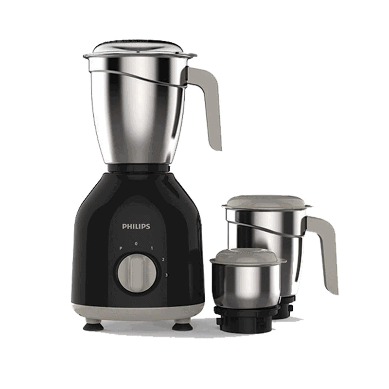 Philips HL7756/00 Mixer Grinder, 750W, 3 Jars