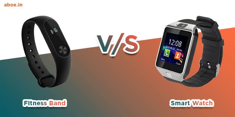 Smart watch vs Fitness band