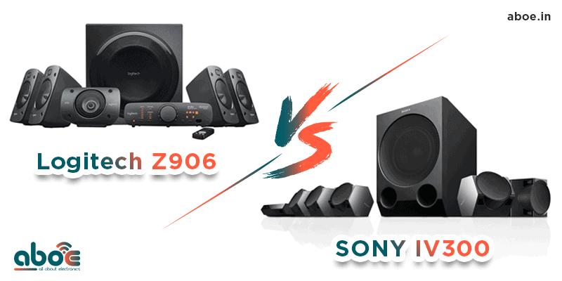 Logitech Z906 vs Sony IV300