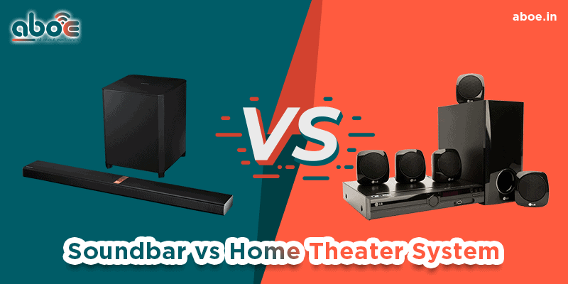 Soundbar vs Home Theater System