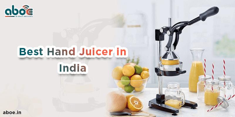 Best Hand Juicer in India